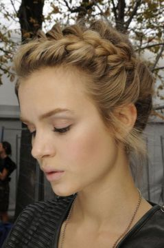 4. the braided crown