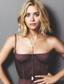 ashley olsen textured bob