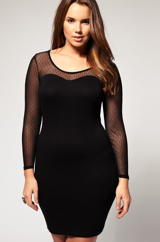 Bodycon Plus Size Dress Fmag
