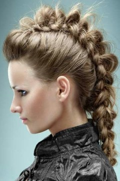 braided fauxhawk