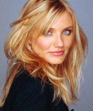 cameron diaz layered hair cut