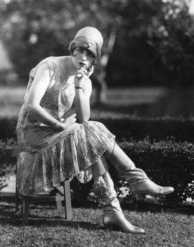 flapper dress vintage