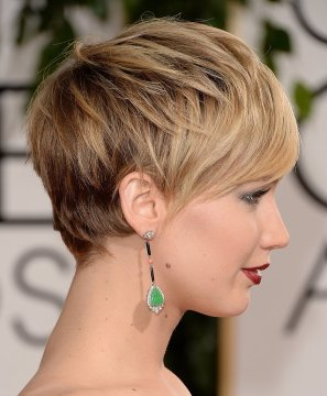 jennifer lawrence short hair layers