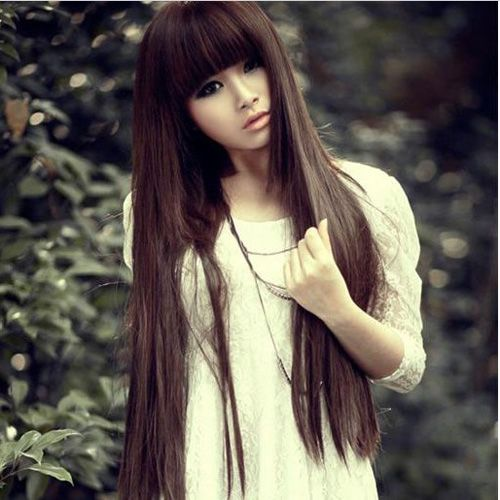 Excellent The 5 Best Korean Hairstyles For Long Hair Fmag Com Short Hairstyles Gunalazisus