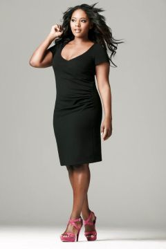 plus size simple ldb