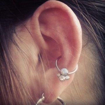 cute idea conch piercing