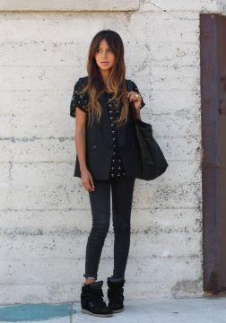 isabel marant skinny jeans balck