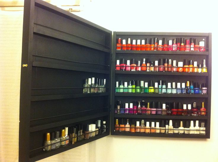 The Best Nail Polish Storage Ideas To Try Right Now Fmag Com