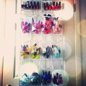 nail polish shoe organizer 3
