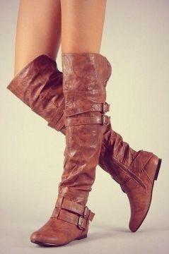 Kneehighboots Leather