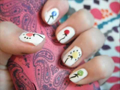18 amazing nail designs ideas for birthday fmag small balloons prinsesfo Choice Image