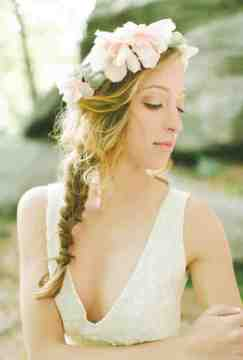 boho and flower crowns for wedding