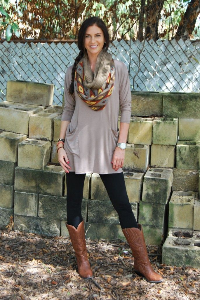 Tunics with Leggings - Perfect Casual Outfit Formula - FMag.com