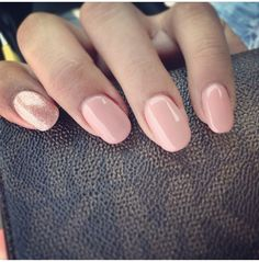 round tip nnude nails