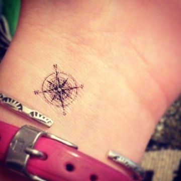 Small wrist tattoo