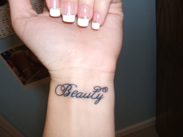 One Word Tattoos Powerful And Charming Designs Fmagcom