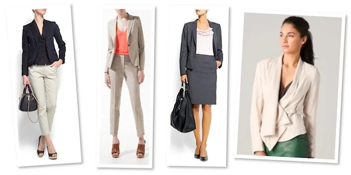 Slim-fit Cotton Blazers and Suit Jacket for Women