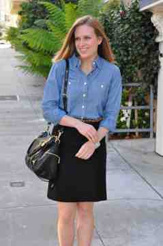 Chambray Professional Outfit