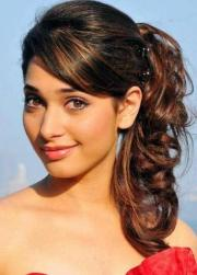 easy elegant hairstyle medium-length