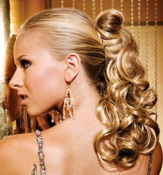 Blonde Fancy Ponytail