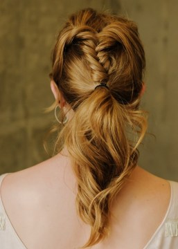 Fishtail Braid Ponytail