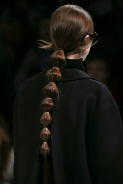 Segmented Ponytail on Models