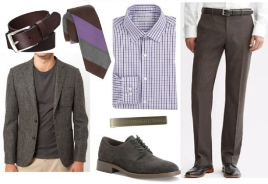 Summer Interview Outfit for Men with Accessories
