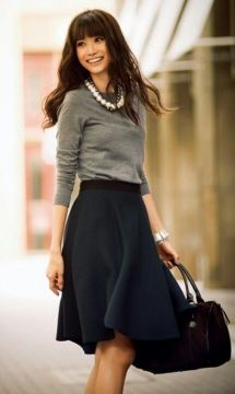 Black and gray business casual