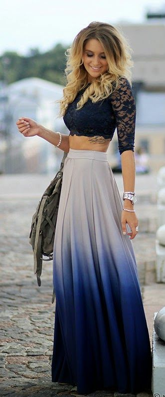 Maxi Skirt Formal Outfit