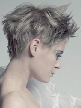 Glamorous short hair
