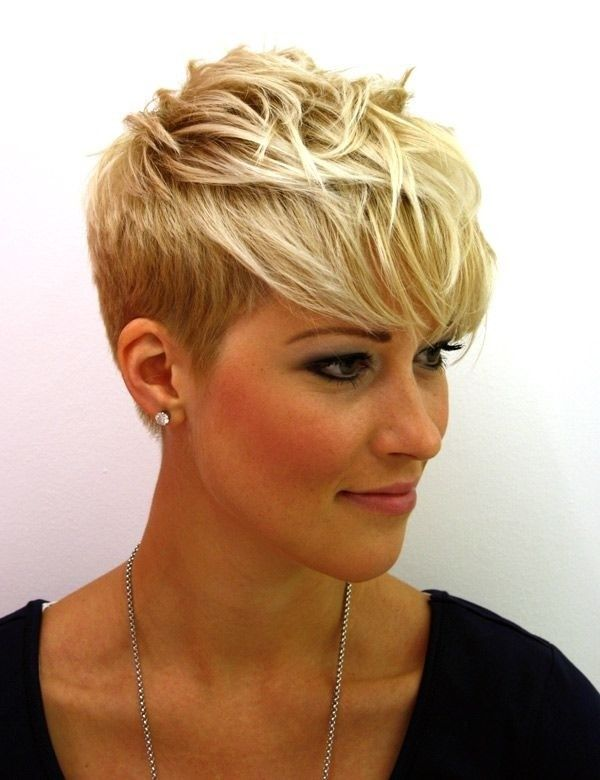 Trendy spiky haircuts for women pictures