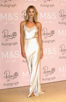 Rosie Huntington-Whiteley Launches Her New Fragrance For M&S