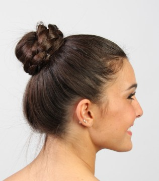 Pretty Braided Bun