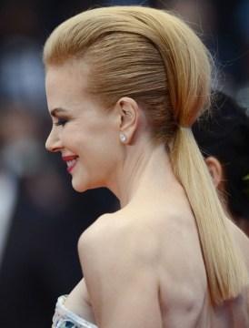 Nicole Kidman Mohawk Ponytail