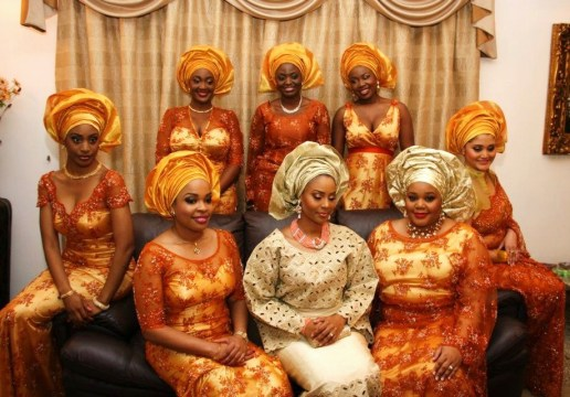 Aso Ebi Uniform Dresses