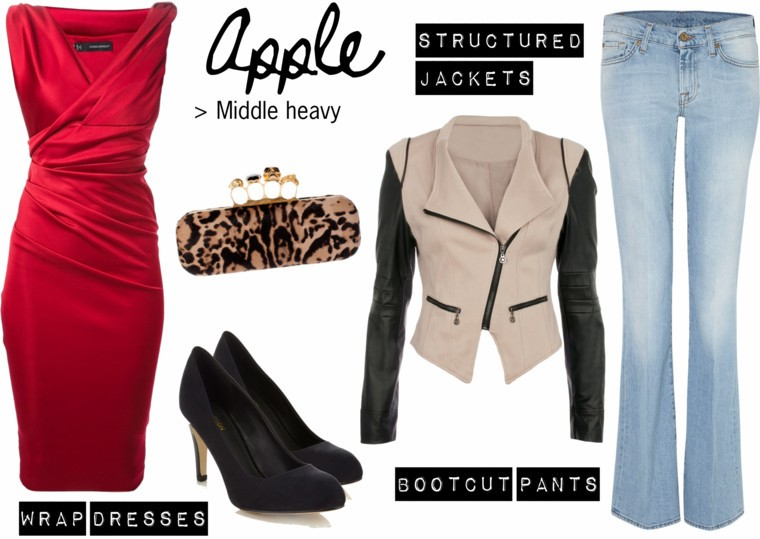 style dress suits apple shape in jeans