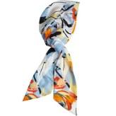 EUGENIA KIM Silk Floral Print Headscarf - Calypso St. Barth