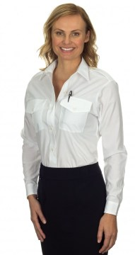Casual White Dress Shirt