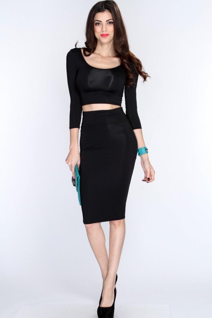Black pencil skirt fashion 13
