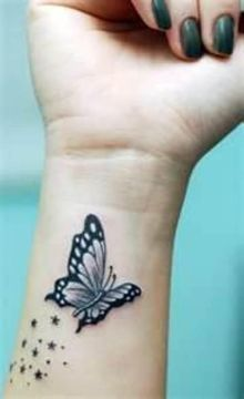 Dreamy Butterfly on Wrist
