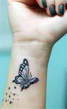 Dreamy Butterfly on Wrist