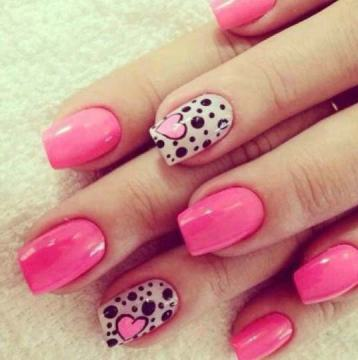 Girly Pink Nail Polish