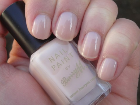 Nude Nail Paint Soft Pink-Beige Sheer Jelly Bridal Manicure