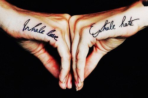 Quote Matching Couple Tattoo
