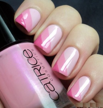 Triple Pink Shaded Nails