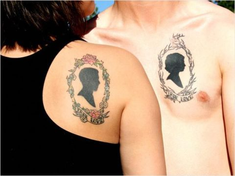 55 matching couple tattoo ideas all lovers will love for True love tattoos