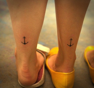 anchor match tattoo