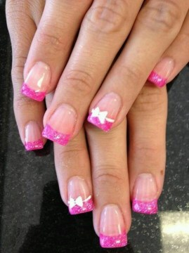 90 Glamorous French Tip Nails Ideas All About Pink Fmag Com