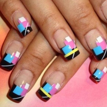 90 glamorous french tip nails ideas all about pink fmag spring french tip nail design prinsesfo Gallery