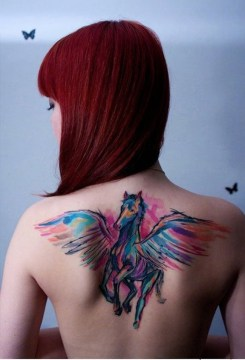 pegasus tattoo